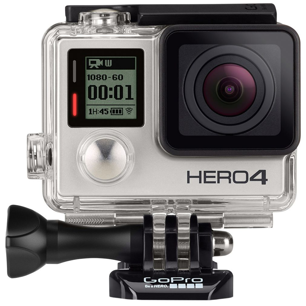 Camera video GoPro Hero 4, Full HD, Silver Edition