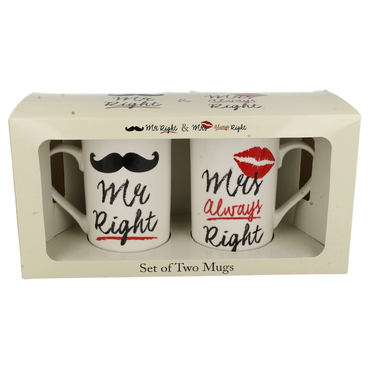 Set 2 cani - Mr mrs Always Right | Lesser & Pavey