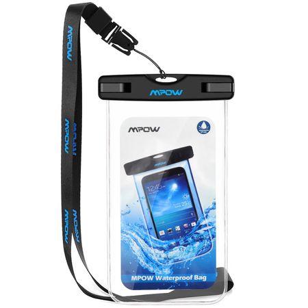Husa subacvatica waterproof Mpow universala pentru telefoane, sub apa