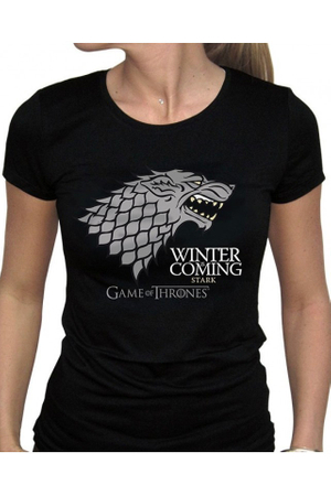 Tricou femei  Game Of Thrones  - Stark  , 36-42 EU