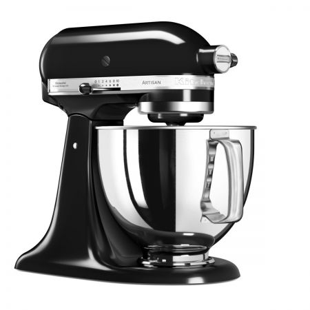 Mixer Artisan 4.8L, Model 2017 negru - KitchenAid