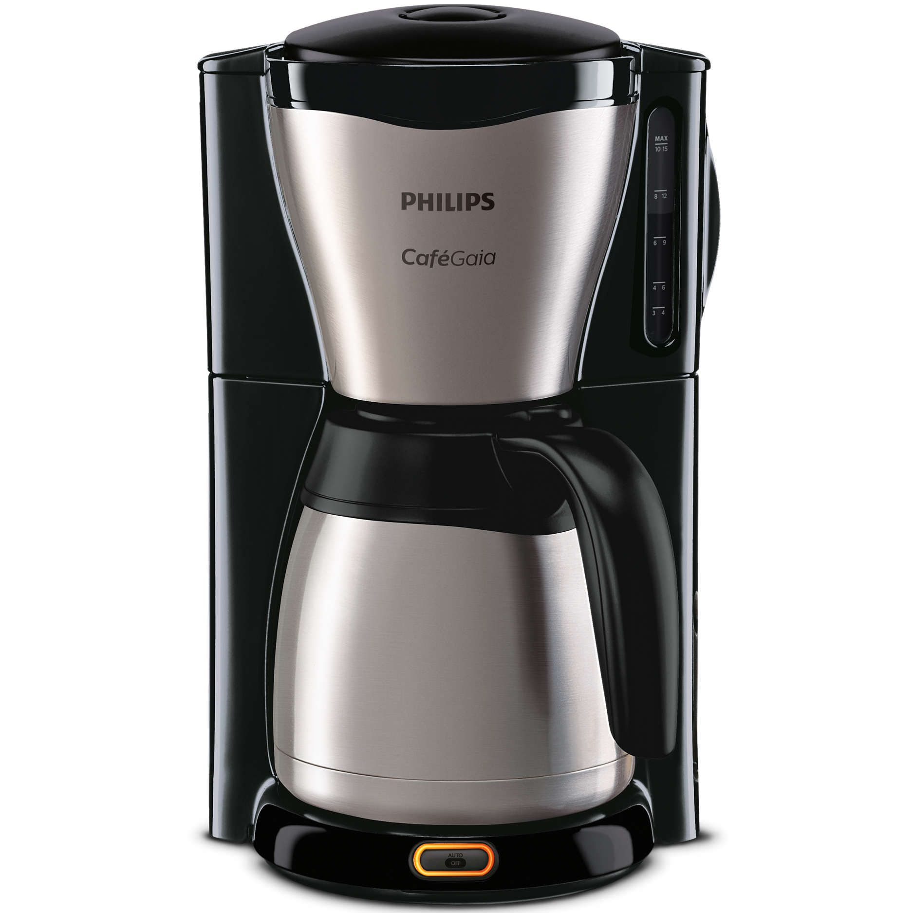 Cafetiera Philips HD7546/20, 1000W, 15 cesti, 1.2L (Negra)
