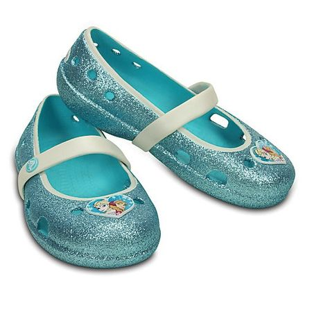 Crocs KEELEY Frozen Flat Pool Blue, 30/31