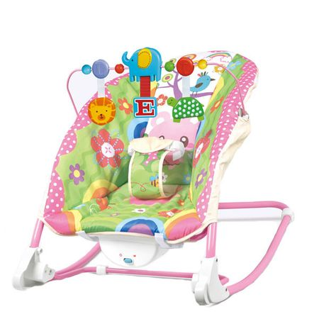 Balansoar 2 in 1 Happy Friends Pink.babyINFANTINI
