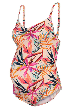 Costum de baie gravide, Noppies, intreg, tropical floral, XL/XXL