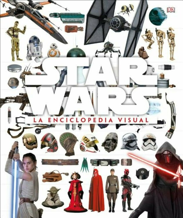 Star Wars La Enciclopedia Visual Hardcover/Adam Bray