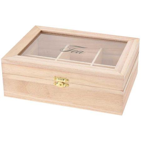 Cutie pentru ceai, Emako, 6 compartimente