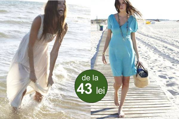 Modele Colorate De Tunici Sau Rochii De Plajă