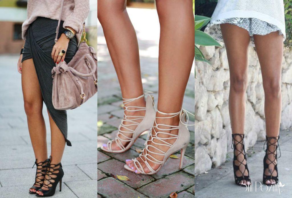 Modele De Pantofi Și Sandale Cu Șnur (sau Cu Șiret)
