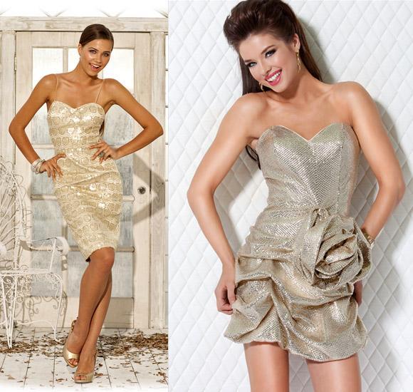 Modele de rochii argintii in tendinte actuale - scurte, midi si lungi