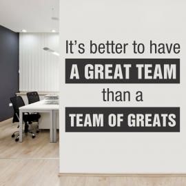 Stickere decorative de perete birou, cu mesaje motivationale - Recomandari online