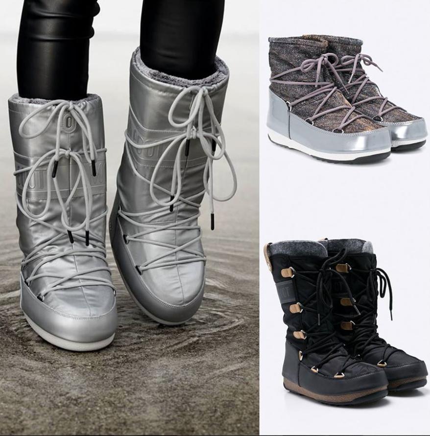 Iti plac aceste cizme Moon Boots? Uite de unde le poti cumpara, din Romania