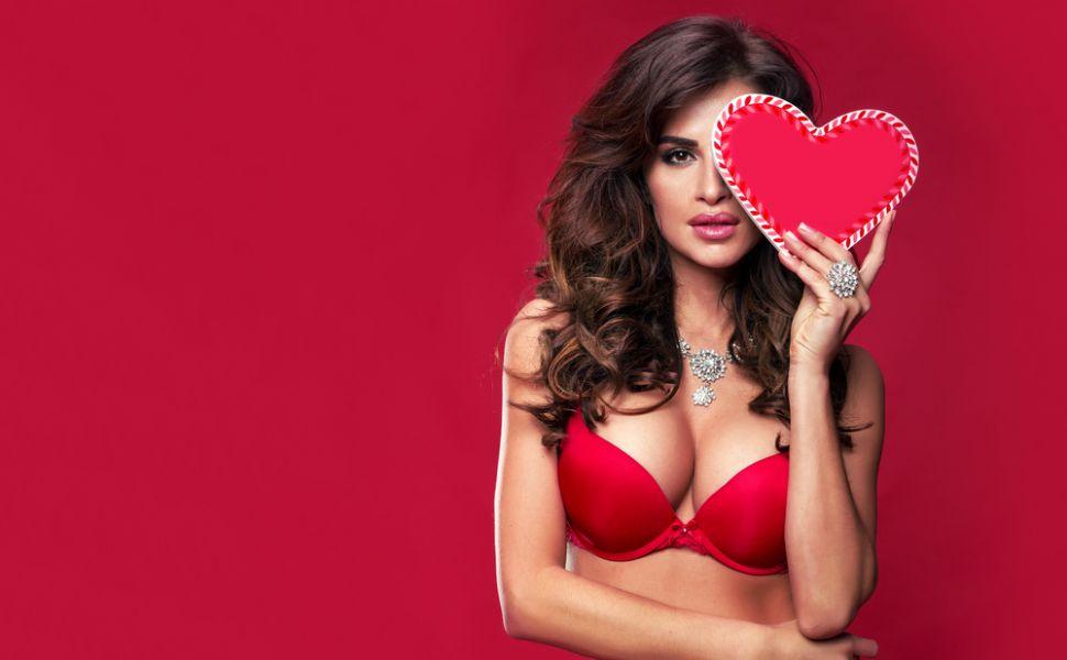 Lenjerie Intimă Roșie Pentru Femei Elegante - Din Dantelă, Satin Sau Bumbac