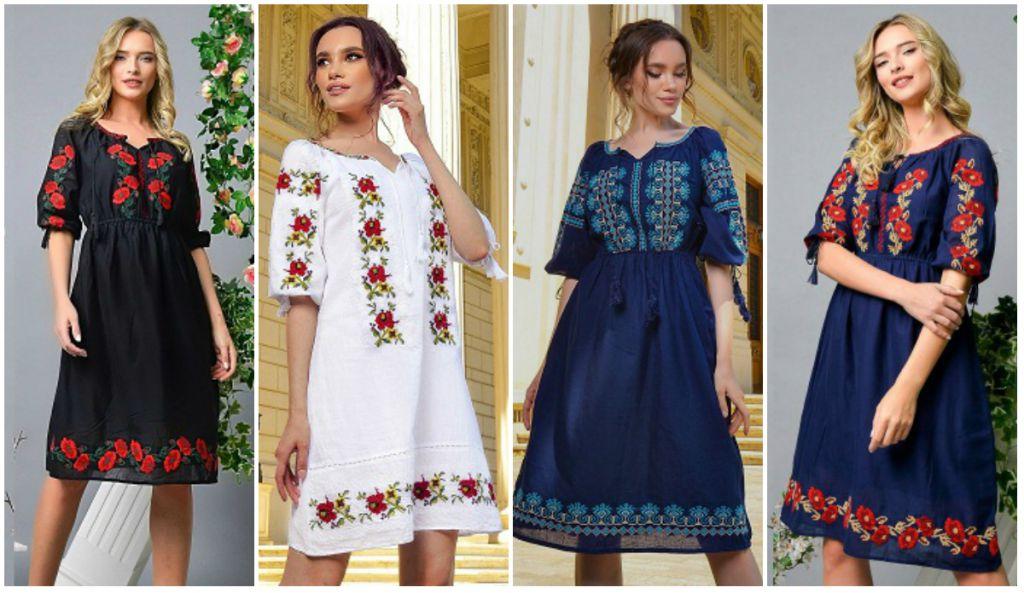 Cauti o rochie cu motive traditionale romanesti, etnice? Vezi de unde le poti cumpara, online