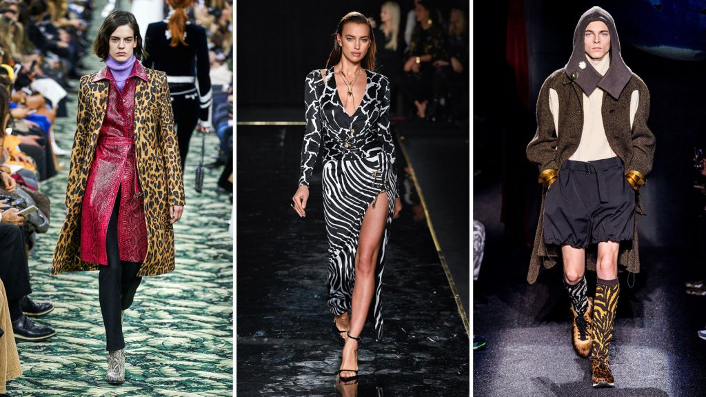 Iubesti hainele animal print? Uite ce rochii, bluze , paltoane sau genti iti poti cumpara online