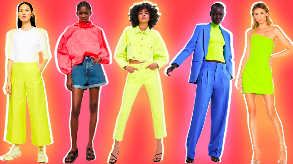 De unde iti poti achizitiona haine neon? Verde sau roz fosforescent?