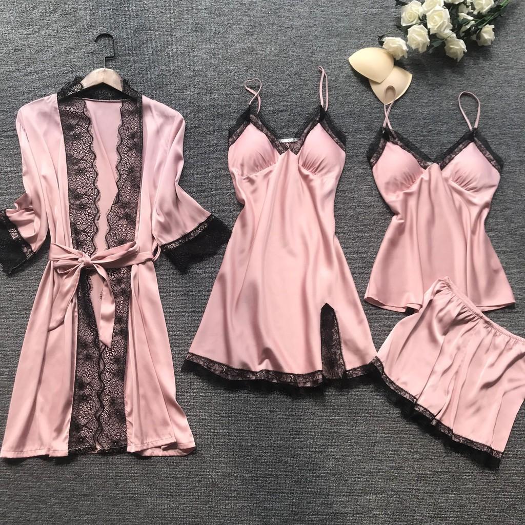 Pijamale din matase si satin pentru femei - bucurie pentru corp si suflet