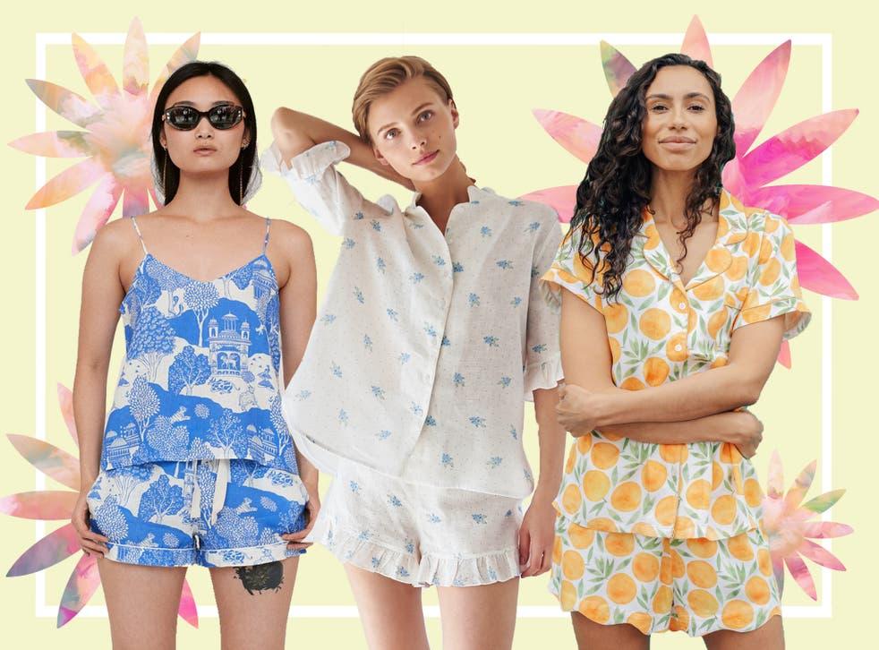 Pijamale de vara pentru femei si barbati, scurte - deosebite, din bumbac