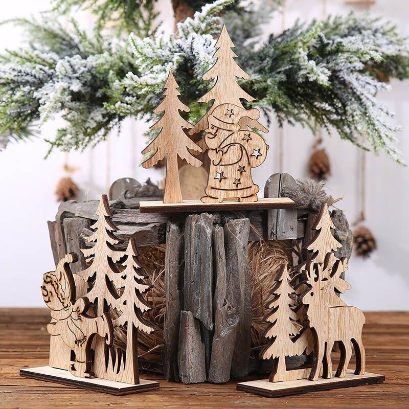 Decoratiuni din lemn pentru un Craciun altfel