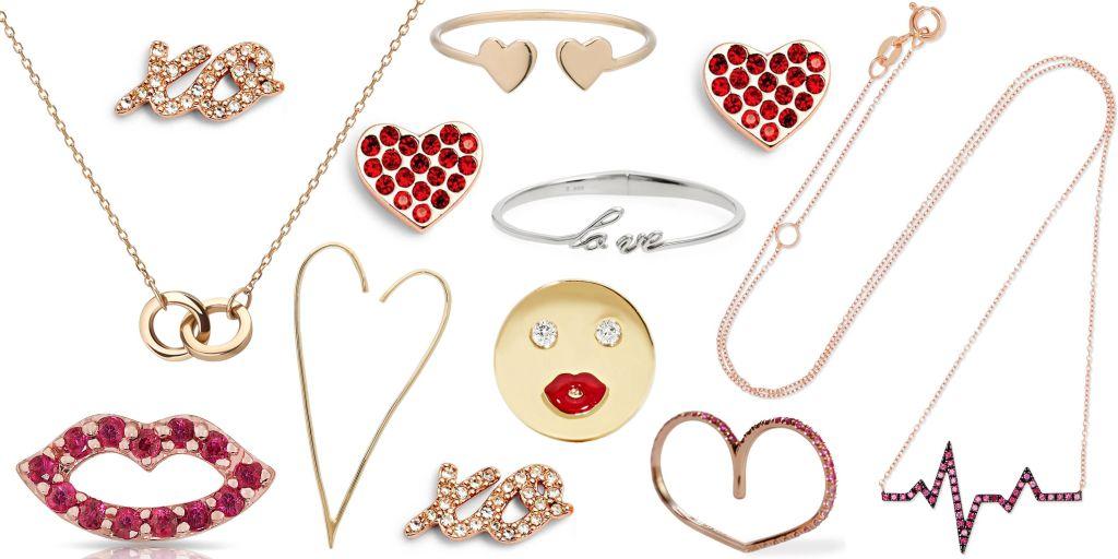 Bijuterii in forma de inima, cadou de Valentine's Day