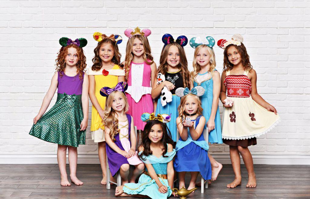 Rochițe De Prințese Fetițe 3-5 Ani