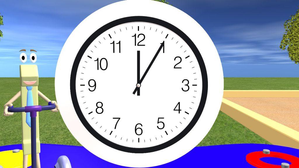 Jocuri si jucarii pentru a invata copilui - Cat este ceasul?