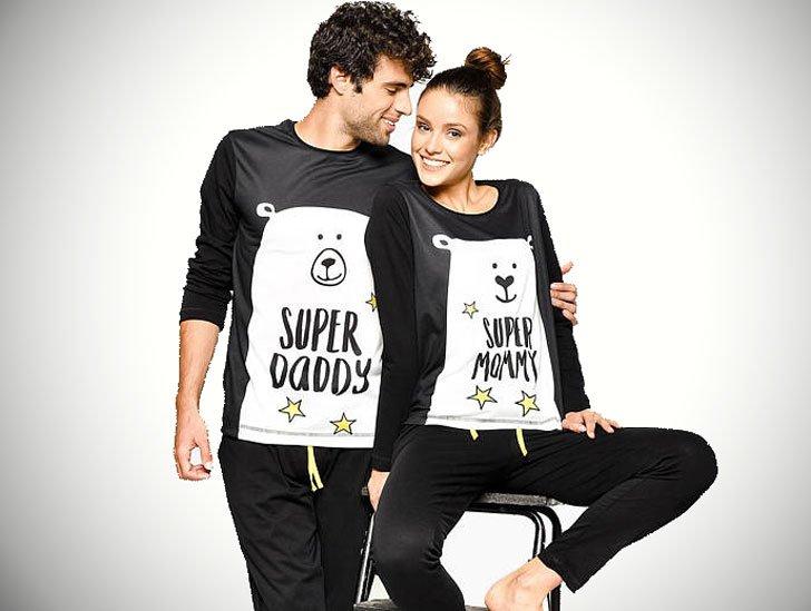 Cele mai noi Pijamale personalizate pentru cupluri - toate marimile